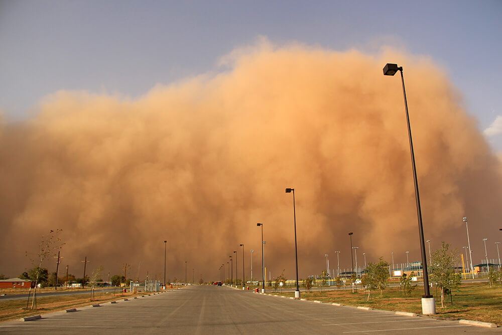 dust storm safety tips for drivers